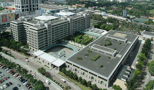 The Asian Development Bank headquarters undergoes eco-friendly changes