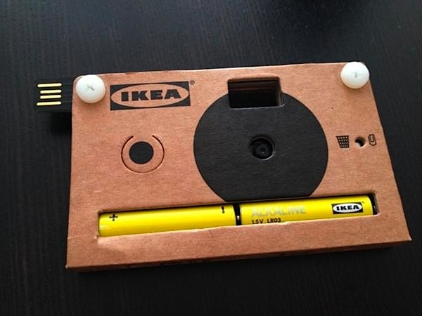 Ikea to give away cardboard cameras