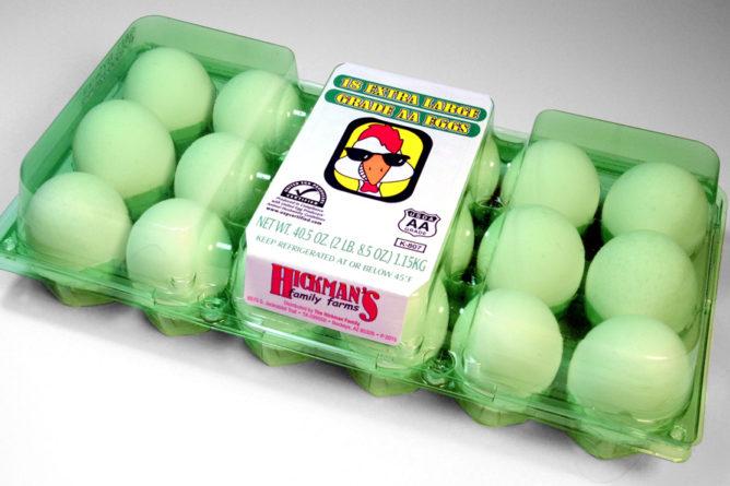 Hickman's egg carton