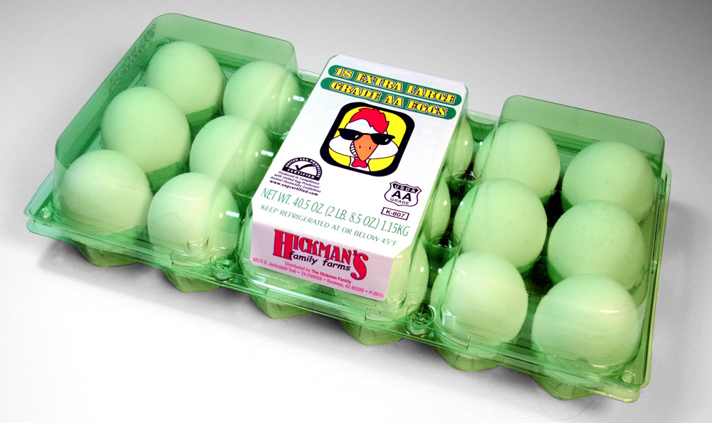 Arizona egg farm uses egg cartons made from 100% recycled