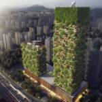 Vertical forests to clean the air in Nanjing, China
