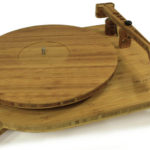 This bamboo turntable lets you listen to your music in an eco-friendly way