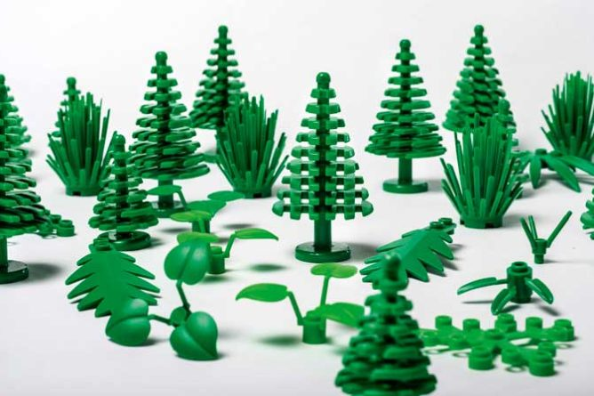 Eco-friendly Legos