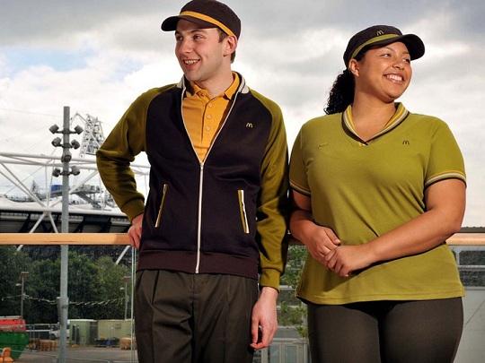 McDonald's recycled uniforms