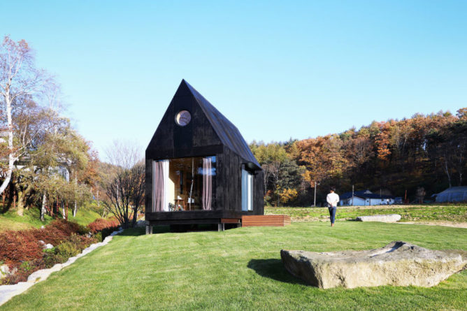 The Tiny House of Slow Town, South Korea