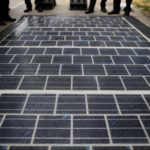 Solar road unveiled in France