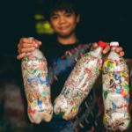 With Ecobricks, plastic waste is turned into building materials