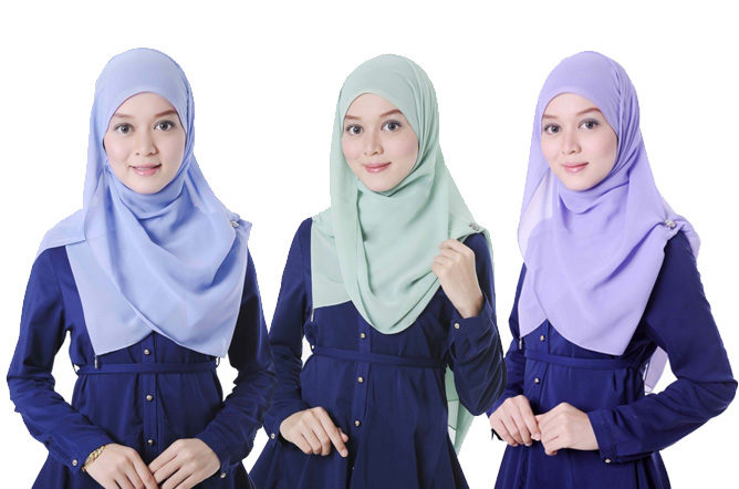 The Green Hijab by Waste2Wear
